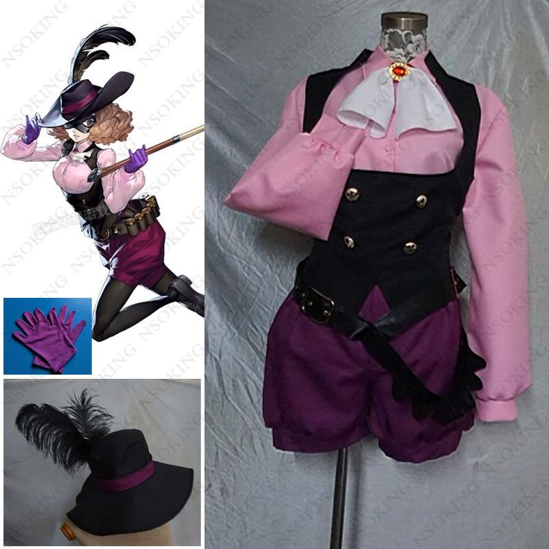 Persona 5 Noir Cosplay Haru Okumura Costume
