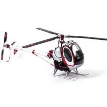Schweizer 300C skala w całości z metalu 9CH helikopter RC bezszczotkowy zestaw RTF 450L DFC wysoka symulacja elektryczna Helicpter zabawka