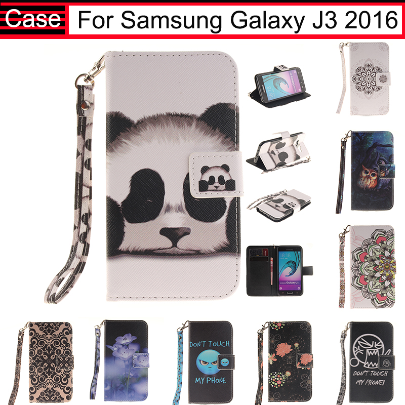 JURCHEN For Samsung Galaxy J3 2016 J320 J320F J310 J310F Case Cover Soft Leather Flip Case For Samsung Galaxy J3 2016 Case 40