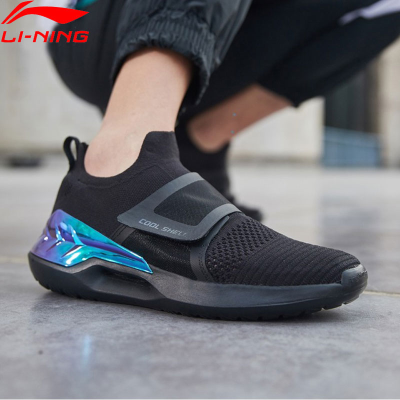 (Break Code)Li-Ning <font><b>Men</b></font> EXTRA II Classic Lifestyle <font><b>Shoes</b></font> Mono Yarn Light <font><b>LiNing</b></font> li ning Sport <font><b>Shoes</b></font> Sneakers AGLP027 YXB295 image