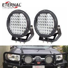 2pcs 225W ARB high power round off road wrangler 4x4 powersports led driving light motorcycle dune buggy 4WD vehicles work lamp