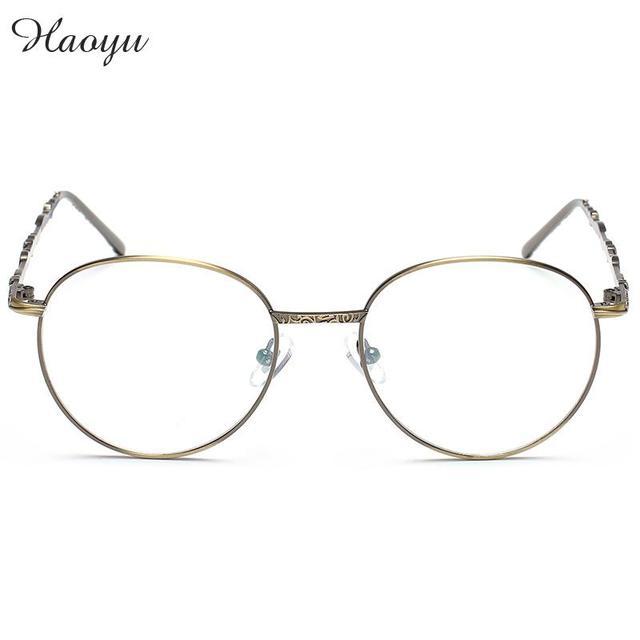 Aliexpress.com : Buy haoyu Stainless steel Eye glasses frames ...