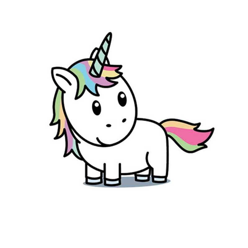 Unicorn Light Switch Stickers For Kids Rooms Baby Nursery Home