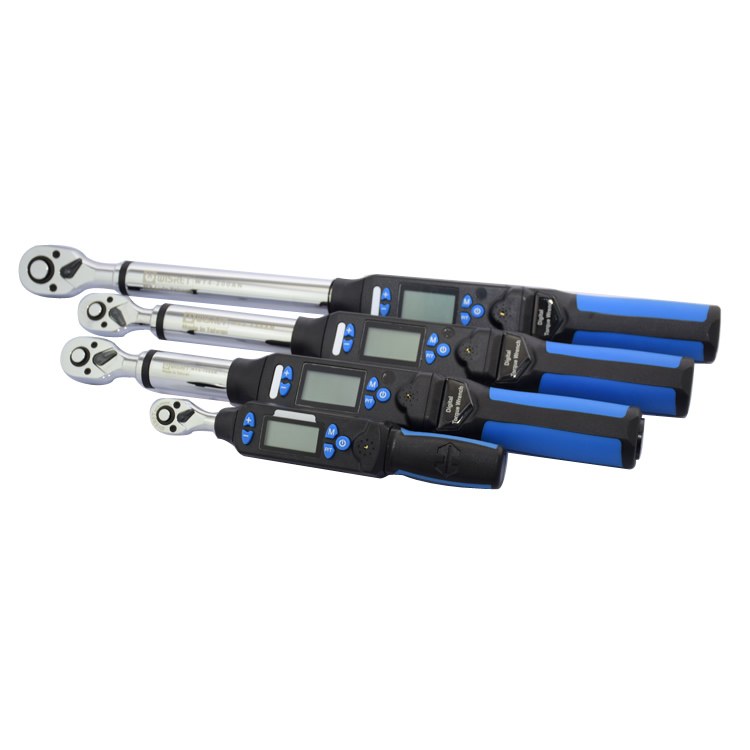 TaiWan manufacture digital torque wrench 1.5 30NM 1/4inch Ratchet Wrench torque spanner The 10groups can be preset torque value