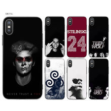 KMUYSL Teen Wolf Tv Show Dylan O'brien TPU Transparent Soft Silicon Case Cover Coque for iPhone X 7 8 6 6s Plus 5 5S SE 5C(China)