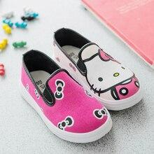 2016 été nouveaux enfants chaussures de toile bébé chaussures simples garçons / filles printemps et automne coréenne AB bande dessinée de Style chaussures de sport