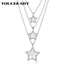 Женское многослойное ожерелье с кулоном toucheart tree of life