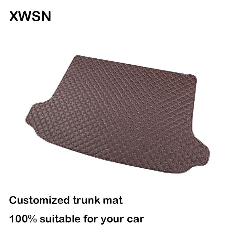 XWSN Car trunk mat for Lifan All Models Lifan x60 Lifan x50 320 330 520 620 630 720 auto accessories двигатель lifan 170f