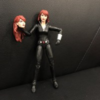Original Marvel Legends Figurine 6'' Marvel: Captain America Black Widow Joints Doll Action Figure Collectible Model Loose Toy