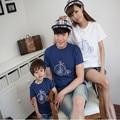 t-shirtmother father babyfashionfamily lookcottonfamily matching outfitsshort sleevebike0038