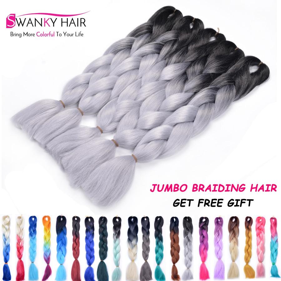 1 10pcs 20Colors Xpression Braiding Hair 100G Kanekalon