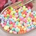 Разные яркие цвета акриловые бусины разделительные шарики подходят для ювелирных изделий ручной работы 200 шт 6 мм YKL0127X-6