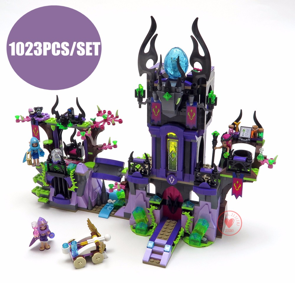 Elves Raganas Magic Shadow Castle fit legoings Elves fairy figures model building Blocks Bricks Toy children gift kid set girlsElves Raganas Magic Shadow Castle fit legoings Elves fairy figures model building Blocks Bricks Toy children gift kid set girls