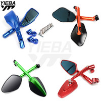 Universal Motorcycle Rearview Mirrors Rear View Side Mirror FOR Honda CBR 600 F2 F3 F4 F4i CB919CBR954RR CBR600RR CBR900RR MT09