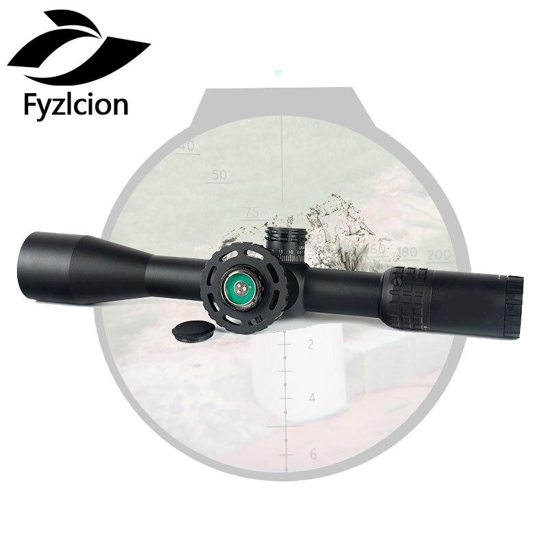 Portée de fusil de chasse 4.5-18X44 SFIR premier plan Focal chasse lunette de visée verre gravé réticule tourelles verrouillage réinitialiser la mise au point de la roue latérale
