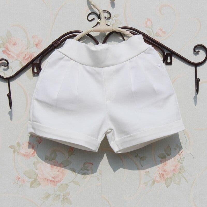 2-17 Jahre 2017 Solid Weiß Mädchen Shorts Sommer Baby Teenager Mädchen Strand Kurze Hosen Kinder Hosen Mädchen Kleidung Kinder Jw1046 Hohe Sicherheit