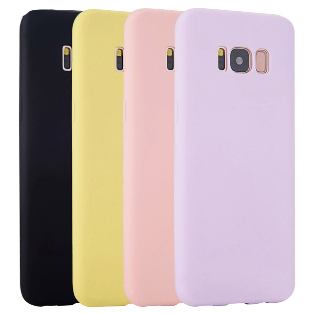 Soft Silicone Case For <font><b>Samsung</b></font> Galaxy A3 A5 A7 2017 J3 <font><b>J5</b></font> J7 Prime Pro G570 G610 Ultra thin Cell Phone Back Cover Casing image