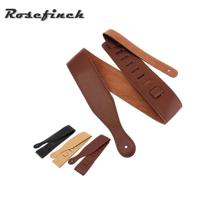 adjustable guitar strap belt adjustable length pu leather acoustic folk electric bass guitar. Black Bedroom Furniture Sets. Home Design Ideas