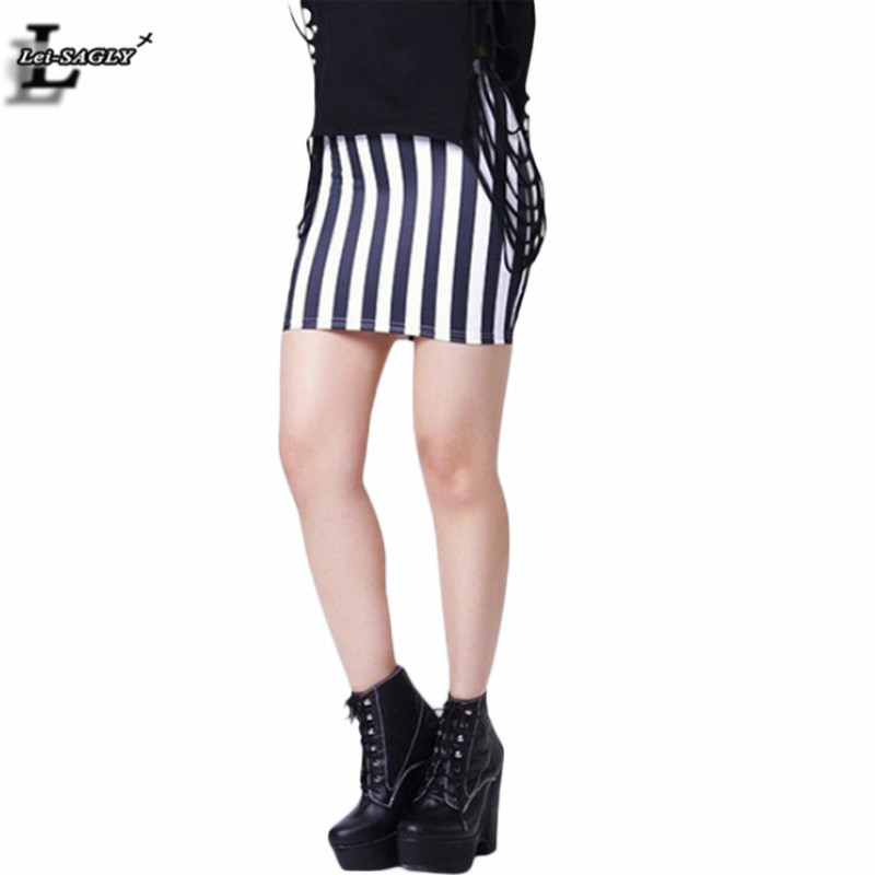 Hot sale black and white vertical stripes shorts skirts for Women s fishing shorts