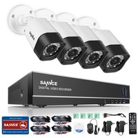 SANNCE Full HD 8CH AHD 1 3MP Home Outdoor CCTV System Kit 8 Channel Array Surveillance