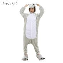 Hippo Pajama Hippopotamus Kigurumi Cosplay Costume Women Adult   Cute Animal Onesie Flannel Warm Winter Sleepwear Party Fancy