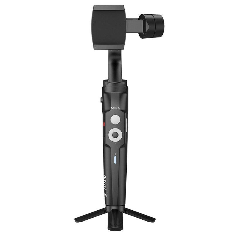 MOZA Mini S складной 3 х осевой ручной шарнирный стабилизатор для камеры для IPhone X samsung S8 huawei P30 смартфон GoPro - 3