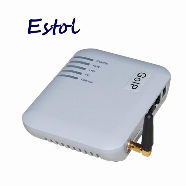 GOIP ערוץ אחד GSM Gateway (IMEI שינוי, 1 כרטיס ה SIM, SIP & H.323, VPN PPTP).SMS GSM VOIP GATEWAY