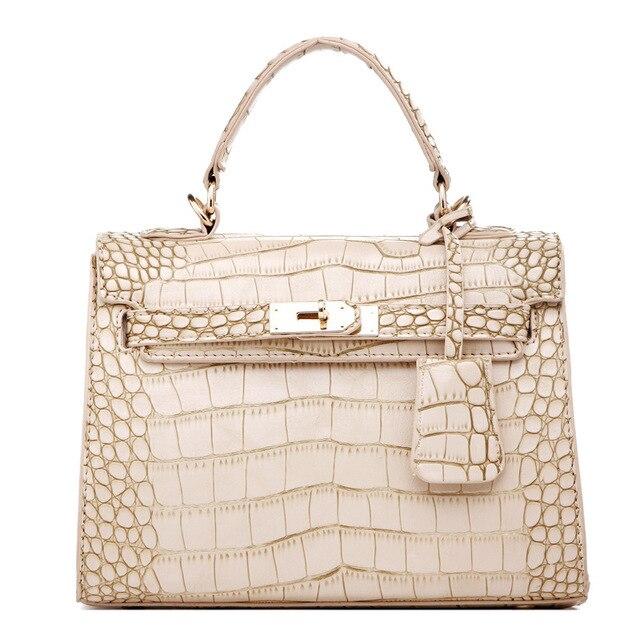 ebf9d4ac80 luxury handbags New Arrive Fashion ladies bags Alligator messenger leather Shoulder  bags bolsos mujer de marca famosa ME520