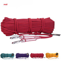10m Professional Outdoor Hiking Rock Climbing Rope Cord 10 5mm Diameter High Strength Cord Safety Rope