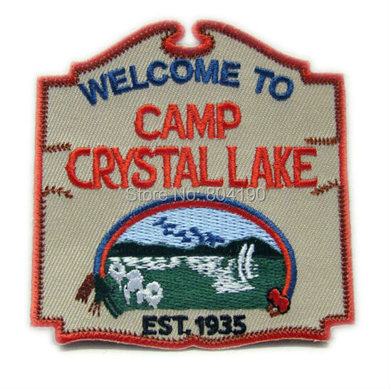 Friday the 13th Camp Crystal Lake Christmas TV MOVIE Series Uniform punk rockabilly applique sew on