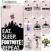 Luamans Battle Royale Soft TPU Phone Back Case Cover For Coque Apple iPhone 8 7 6 6S Plus X 5 5S SE