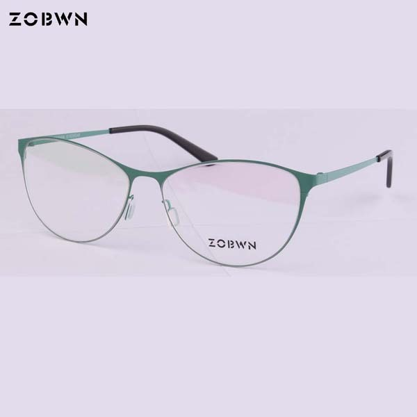 c33798085c2f ZOBWN cat eye glasses marcas Vintage Eyeglasses Frame Women Computer Optical  Glasses Spectacle Retro Women s Female Armacao red