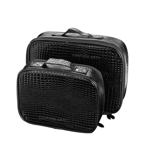 Image 1 - Professional Barber Hair Tool Bags Salon Hairdressing Scissor bag Clipper Comb Storage Case Can Hold Hair Dryer Training Head