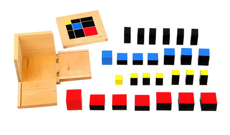 New wooden toy Baby Toy Montessori Algebraic Cube Early Childhood Education Preschool Training Math Kids Toys Free shipping in Blocks from Toys Hobbies