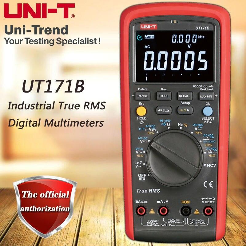 UNI-T UT171B RMS Industriale multimetro digitale/VFC/NCV funzione/USB comunicazione/ACV misura a bassa impedenza