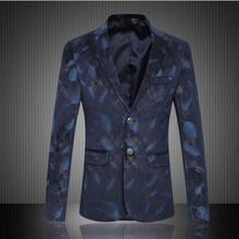 Männer Heiße Verkäufe Schlanke Jacke Ankunft Luxus Männer Blazer Frühling Mode marke Hochwertiger Baumwolle Dünne Mens Casual Fit Anzug Jacke Männer