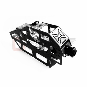 Image 3 - Gartt 700炭素繊維 & メタルメインフレームアセンブリ700 rcヘリコプター用アクセサリー