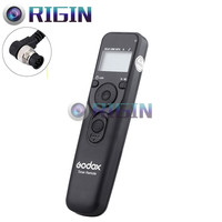 Godox New Products Terminal Line Is User Replaceable Digital Timer Release Camera Remote Cord Model UTR