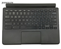 JIANGLUN Used For Dell Chromebook 11 3120 (P22T) Palmrest with US Keyboard Touchpad Black