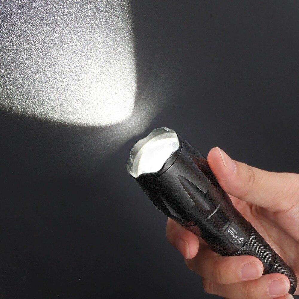 Lanterna de Luz de Caça Tático Interruptor Brilho