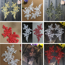 10Pcs Colorful Lace Applique Wedding Headband Hair Accessories Venise Lace Beautiful Flower Floral Motif Appliques Necklace 10pcs colorful lace applique wedding headband hair accessories venise lace beautiful flower floral motif appliques necklace