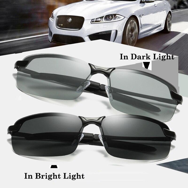 Verres photochromiques Polarisés Hommes de lunettes de Soleil de ... 6673ec5c364c