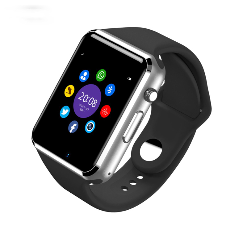 2017 hot Wrist Watch Bluetooth Smart Watch Sport Pedometer With SIM Camera Smar twatch For Android Smartphone Russia A1/W8 u80 smart watch with pedometer function