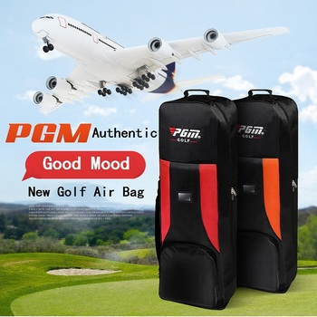 Foldable Double Layer Golf Travel Bag Thickening Golf Bag Wheels Waterproof Golfbag Sports Tool Larg Capacity Fast Shipping