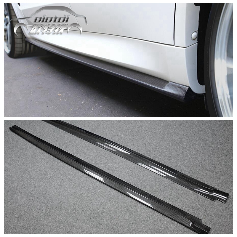 1 компл. 2 шт. левый и правый углеродного волокна сбоку юбки для BMW F15 F16 X5 X6 F85 X5M F86 X6M M TECH M SPORT 2014 до Тюнинг автомобилей 2 шт.