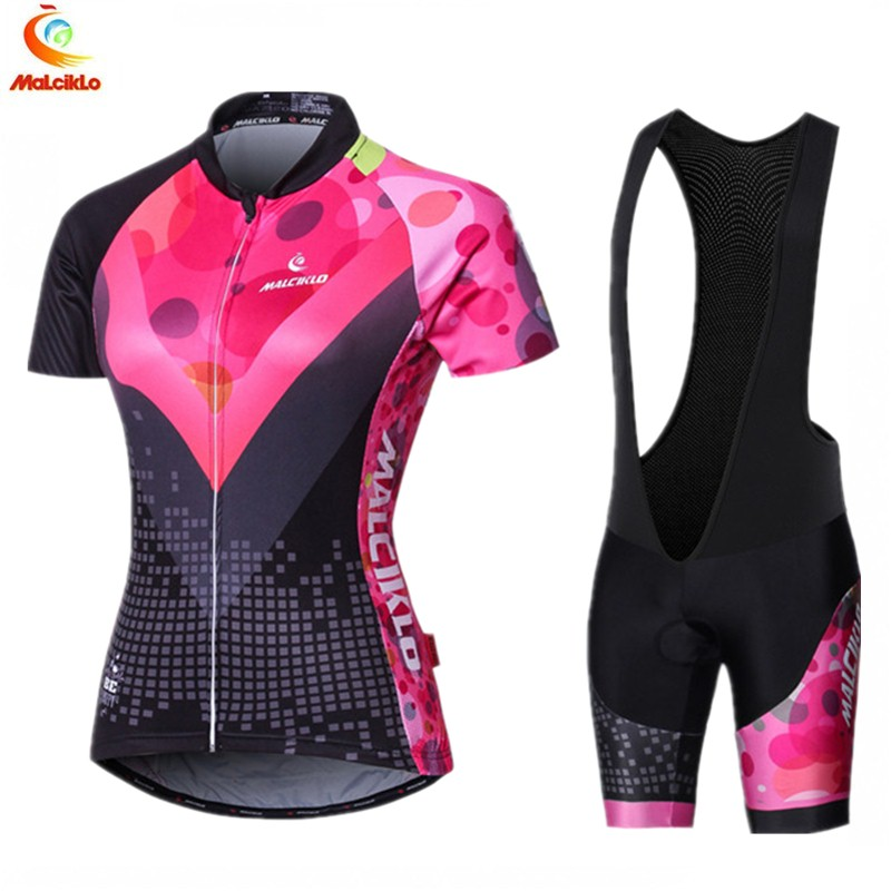 Malciklo Cycling Jersey Women 2019 Pro Team Cycling Clothing Breathable Outdoor Sport Suits Bike Wear Maillot Ciclismo MujerMalciklo Cycling Jersey Women 2019 Pro Team Cycling Clothing Breathable Outdoor Sport Suits Bike Wear Maillot Ciclismo Mujer
