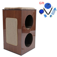 NEW Furniture for Cat Tree with Scratching Place Height 61CM House for Cat Pet Products WJ0406Z