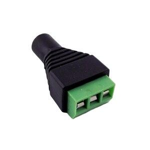 """Image 4 - 2 szt. 3.5mm 1/8 """"Stereo żeńskie gniazdo do AV śruba wideo AV Balun wtyczka terminalowa adapter złącza"""