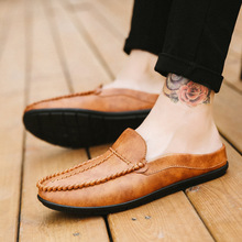 2019 Comfortable Casual Shoes Loafers Fashion Sneakers Soft Leather Shoes Men Flats Hot Sale Moccasins Shoes Chaussure Homme mycolen handmade men flats shoes comfortable genuine leather mens shoes breathable soft loafers chaussure homme de marque