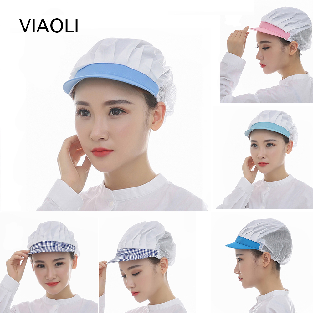 New Medical Nurse Cap Cotton Breathable Surgical Scrub Hats For Women Dentist Work Hats Nurse Cap Breathable Cotton Ladies Scrub